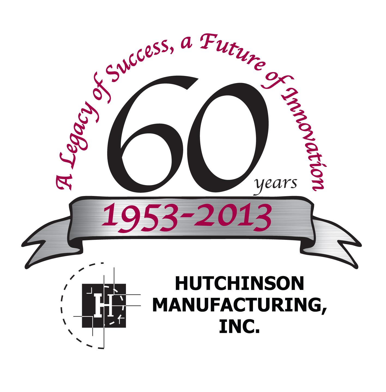 Hutch Mfg 60th Logo